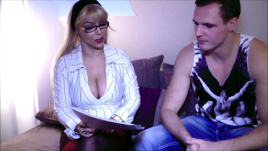 German Big Tits Threesome