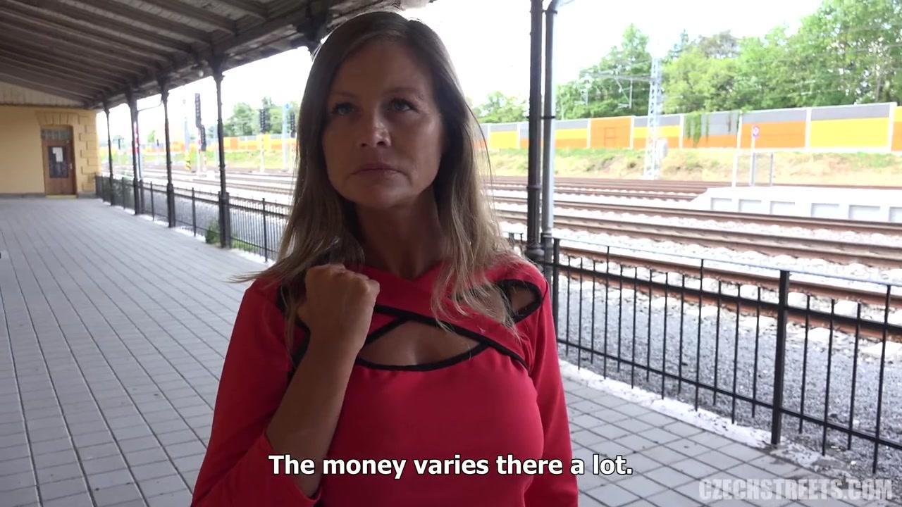 Czech street porn